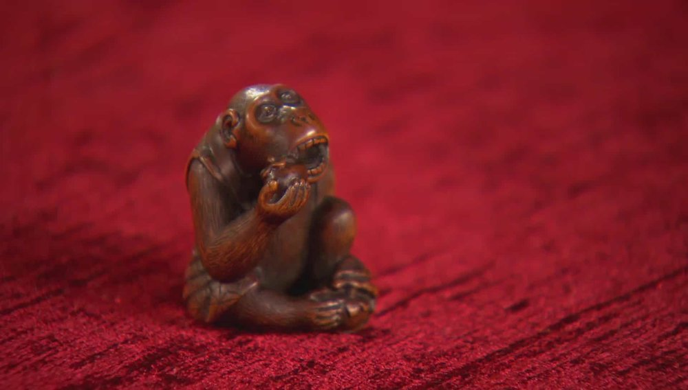 Monkey Netsuke Price: £1,750 Visit Kevin Page website