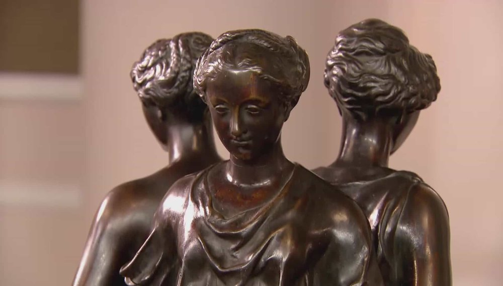 Three Graces Bronze Statue Price: £5,500 Visit Hickmet Fine Arts website