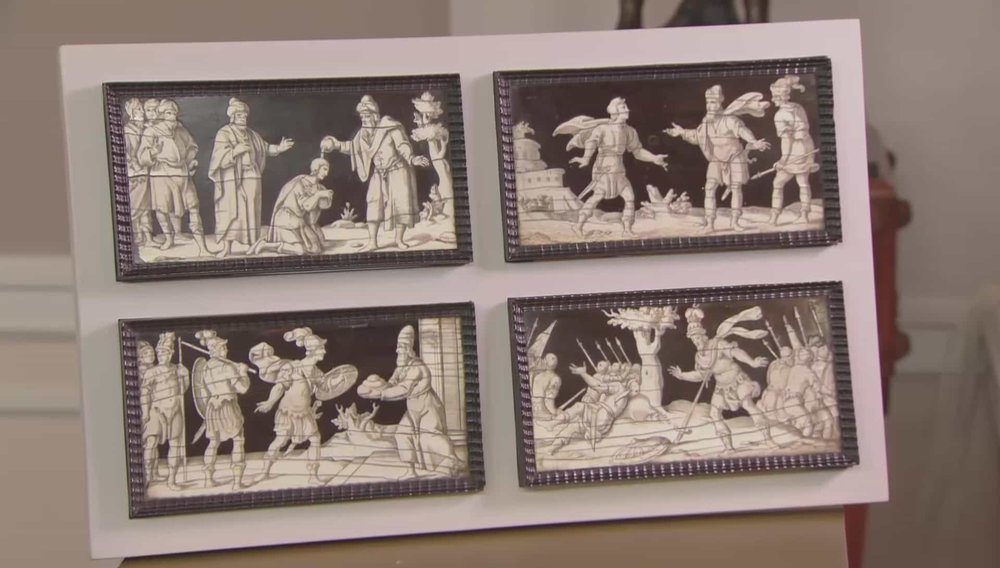 Italian Engraved Panels Price: £4,000 Visit Paul Beedham website