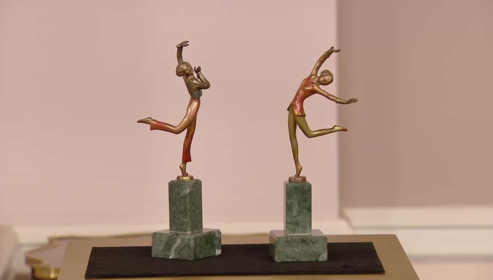 Bronze Art Deco Dancers Price: £1,850 VISIT XUPES WEBSITE