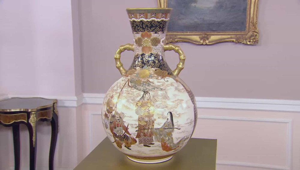Japanese Satsuma Vase Price: £6,500 VISIT KEVIN PAGE WEBSITE