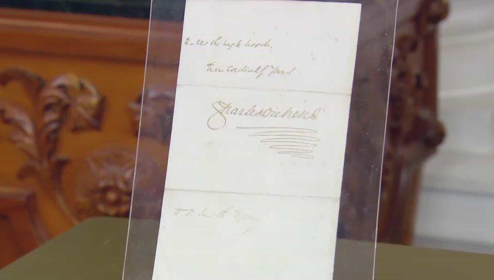 Charles Dickens Letter Price:£1,770 VISIT SOPHIE DUPRE WEBSITE
