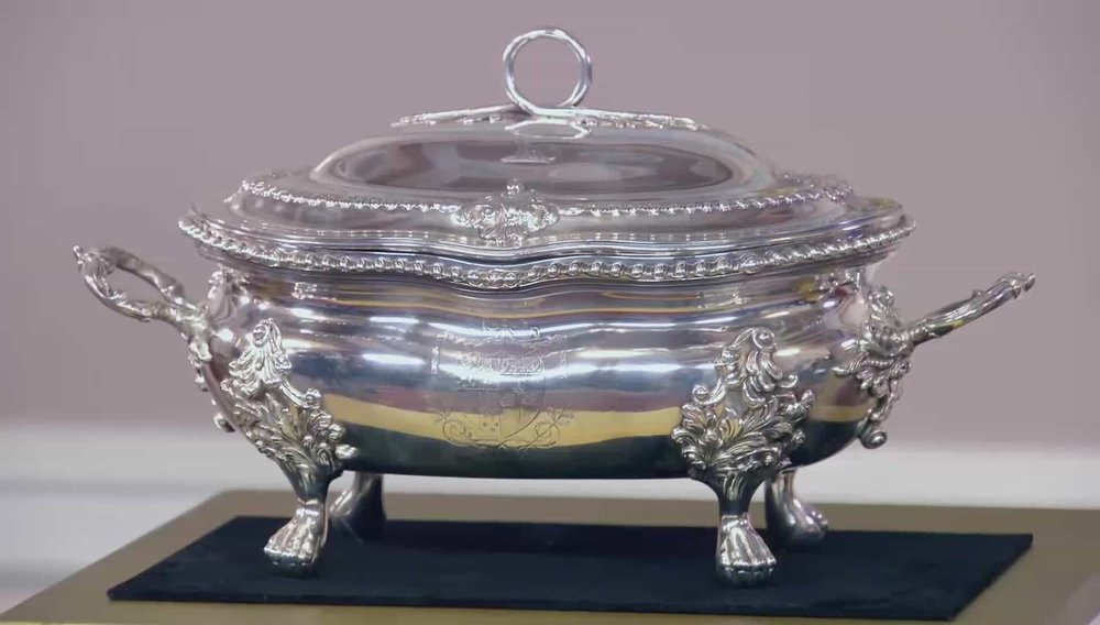 Silver Tureen Price: £12,770 Visit I. Franks website