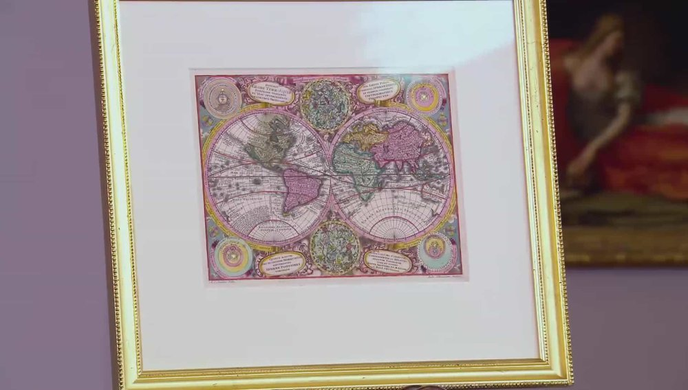 Matthaus Seutter World Map Price: £800 Visit Atlea website