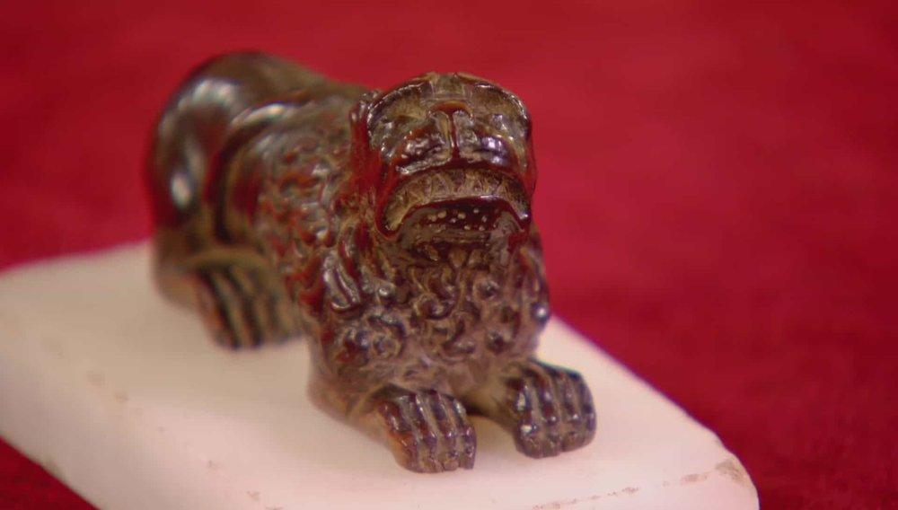 Italian Renaissance Walnut Lion Price:£650 VISIT PAUL BEEDHAM WEBSITE