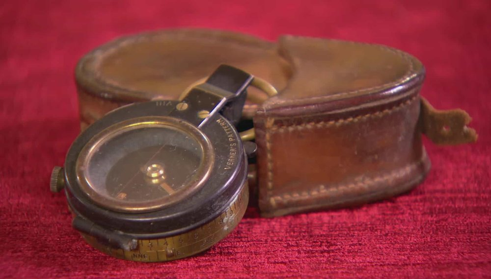 Compass and Case Price:£100 VISIT WESTMINSTER DRAGOONS WEBSITE