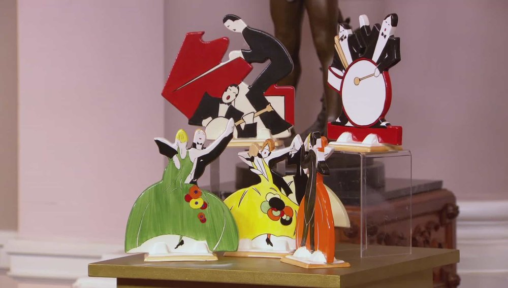 Age of Jazz Clarice Cliff Wedgwood Set Price: £650 PRIVATE COLLECTOR