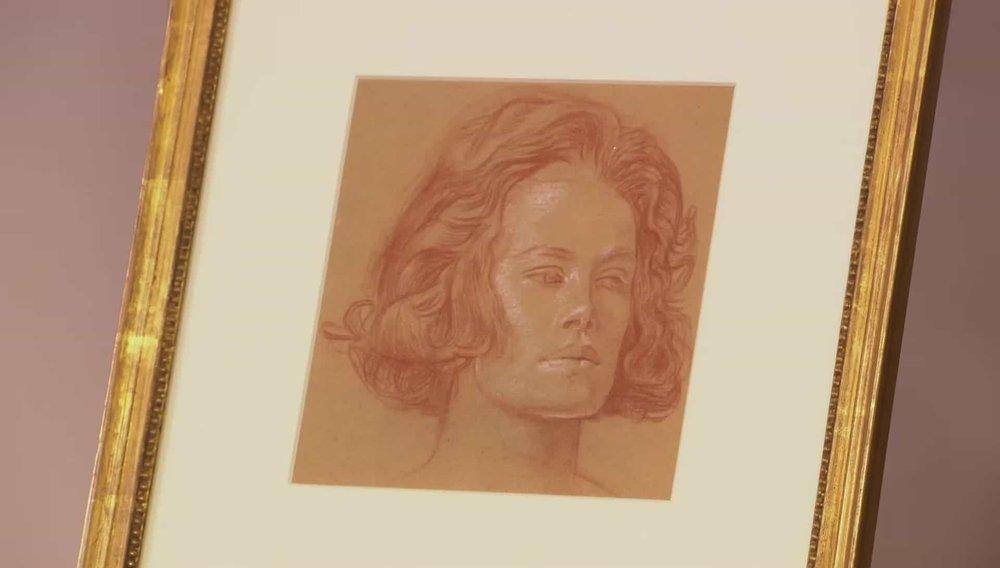 1930s Sketch of a Woman Price:£1,500 VISIT KAYE MICHIE FINE ART WEBSITE