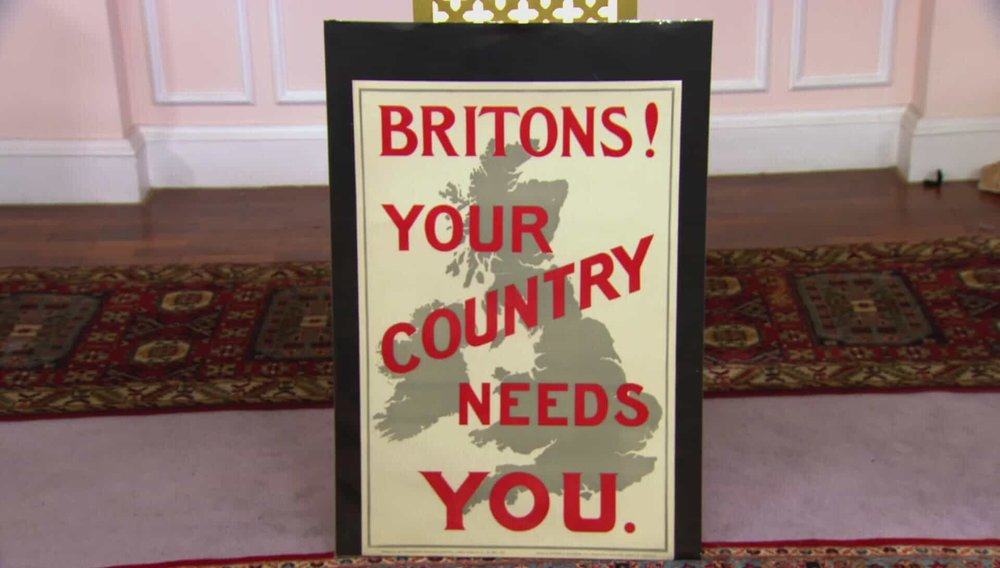 Your Country Needs You Poster Price: £950 VISIT ANTIKBAR WEBSITE