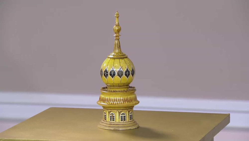 Brighton Pavilion Sewing Box Price: £8,500 Visit Hampton Antiques website