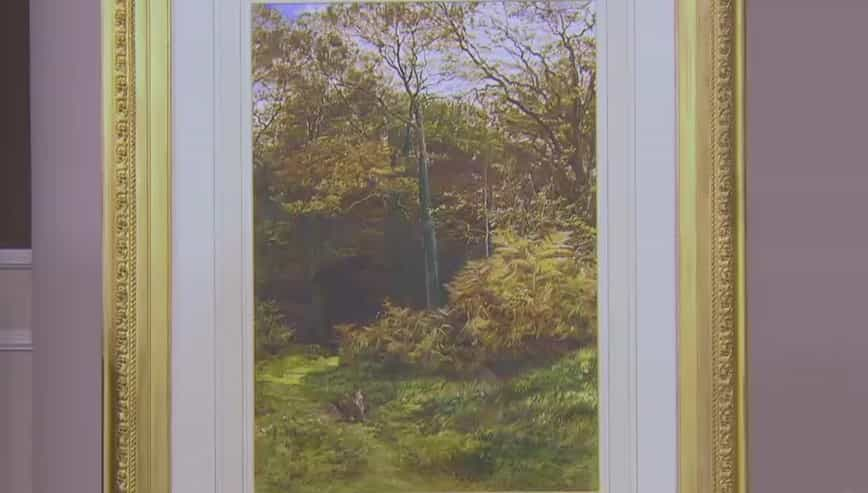 Rabbits in the Wood Watercolour Price: £2,800 VISIT KAYE MICHIE FINE ART WEBSITE