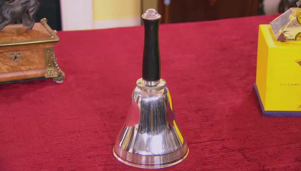 Bell Cocktail Shaker Price:£800 VISIT HAMPTON ANTIQUES WEBSITE