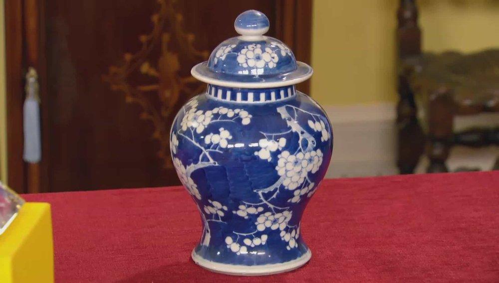 Chinese Vase Price:£120 VISIT HETTIE HARPER WEBSITE