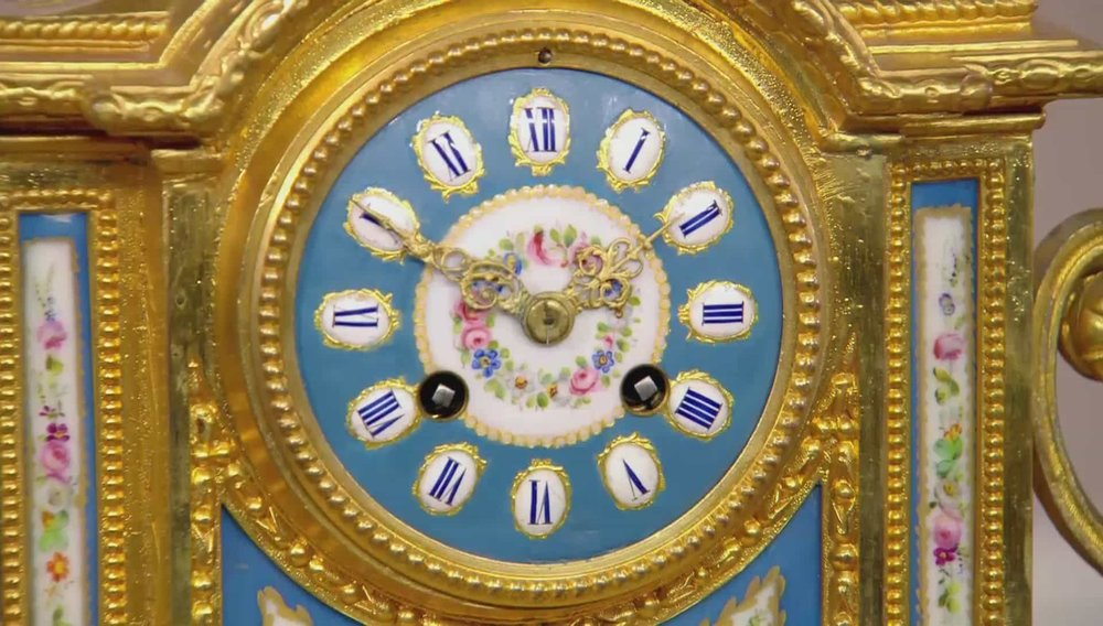 Ormolu Sevres and Porcelain Mantle Clock Price: £2,300 VISIT REGENTS WEBSITE