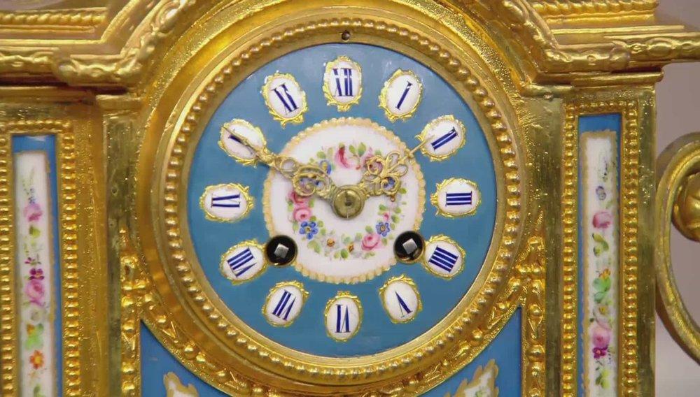 Ormolu Sevres and Porcelain Mantle Clock Price:£2,300 VISIT REGENTS WEBSITE