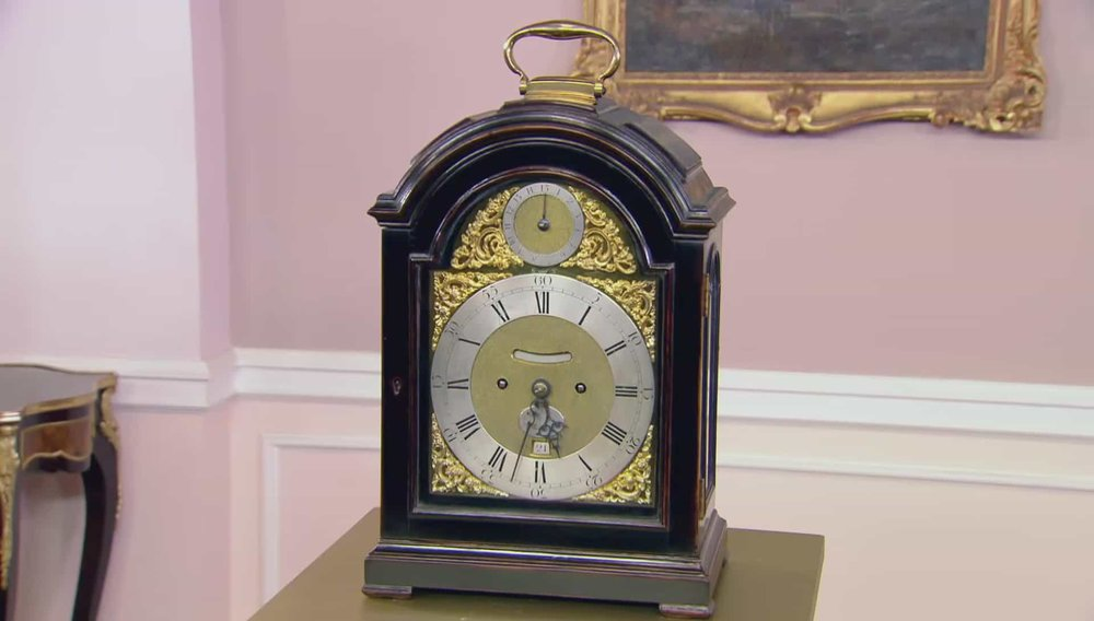 Thomas Mudge and William Dutton Clock Price: £30,000 VISIT ANTHONY WOODBURN WEBSITE