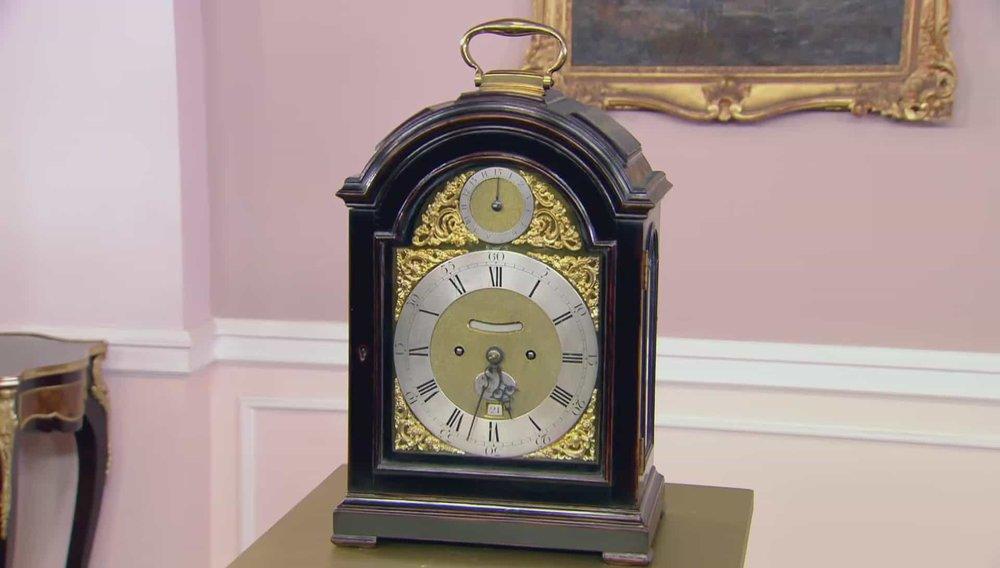 Thomas Mudge and William Dutton Clock Price:£30,000 VISIT ANTHONY WOODBURN WEBSITE