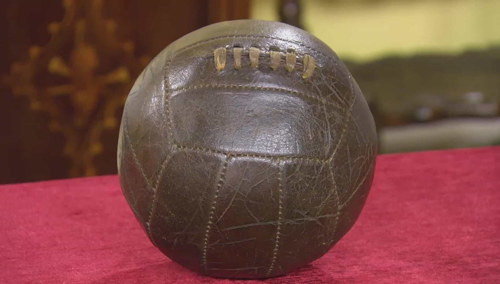 Vintage Football Price: £110 VISIT MANFRED SCHOTTEN ANTIQUES WEBSITE