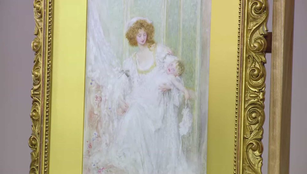 His Lordship, The Babe' by Mary Louisa Gow 1899 Price: £4,200 VISIT KAYE MICHIE FINE ART WEBSITE