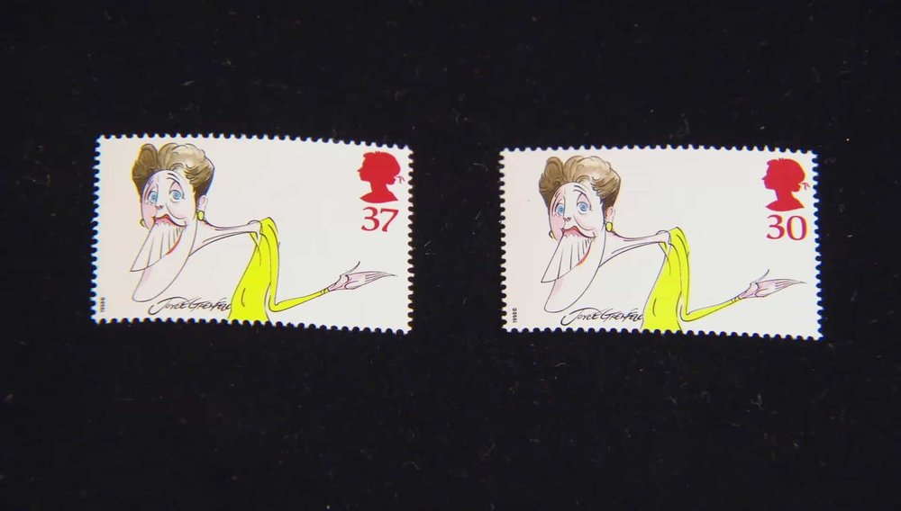 Joyce Grenfell Postage Stamp Price: £2,800 VISIT STANLEY GIBBONS WEBSITE