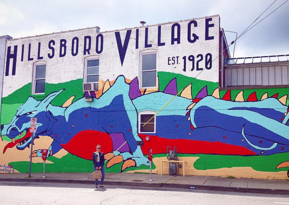 ARTIST:David Glick and Adam Randolph LOCATION: 1212 Belcourt Avenue, Hillsboro Village