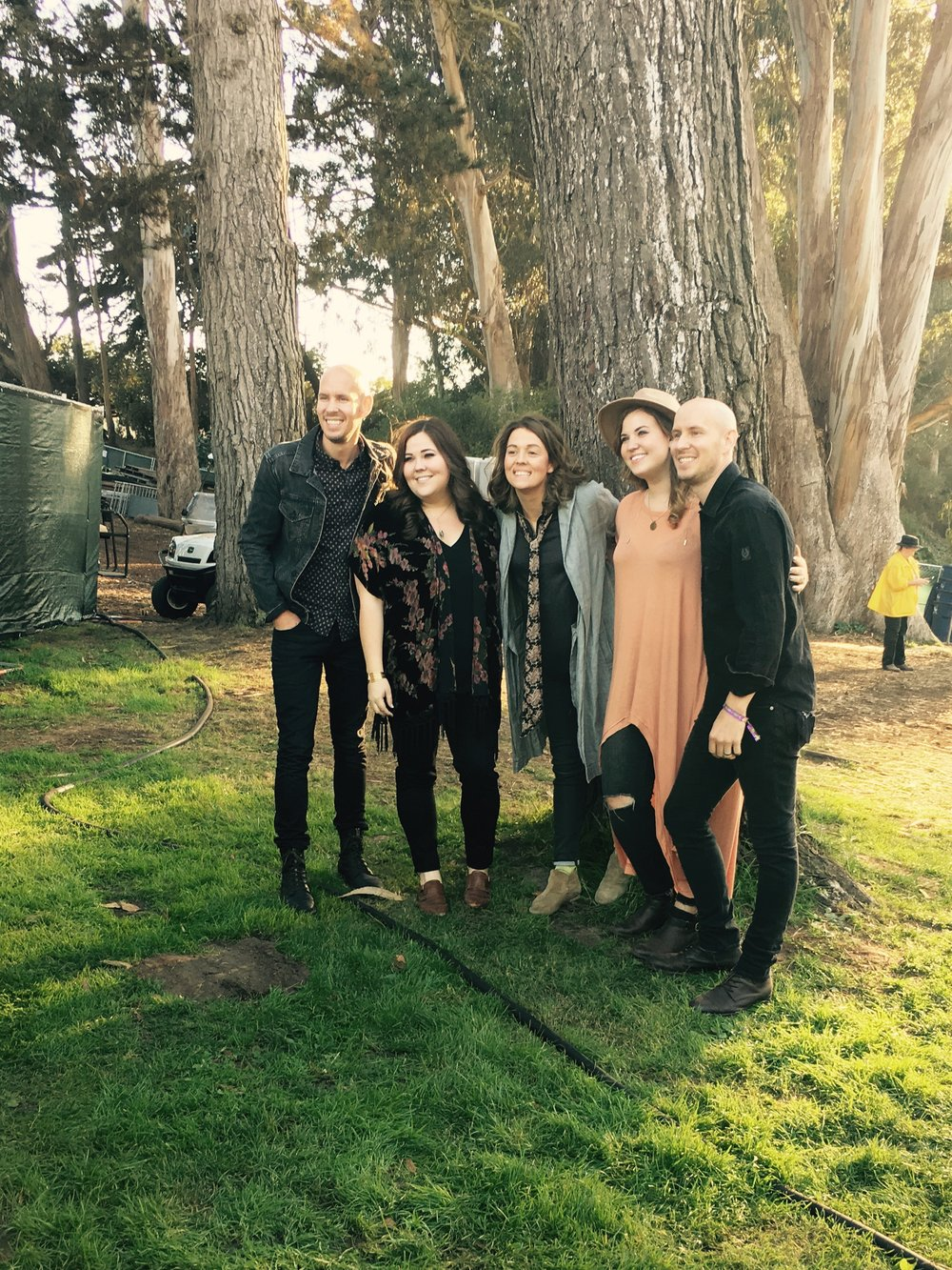 "We had the pleasure of getting to see The Secret Sisters close out Brandi Carlile's set at Hardly Strictly Bluegrass with ""Amazing Grace"""