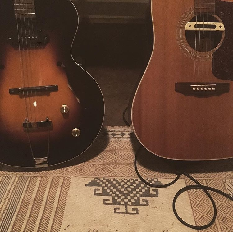 A little teaser photo indicating that Matthew Perryman Jones is going back in the studio next week