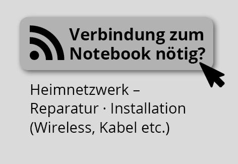 Verbindung zum Notebook nötig?