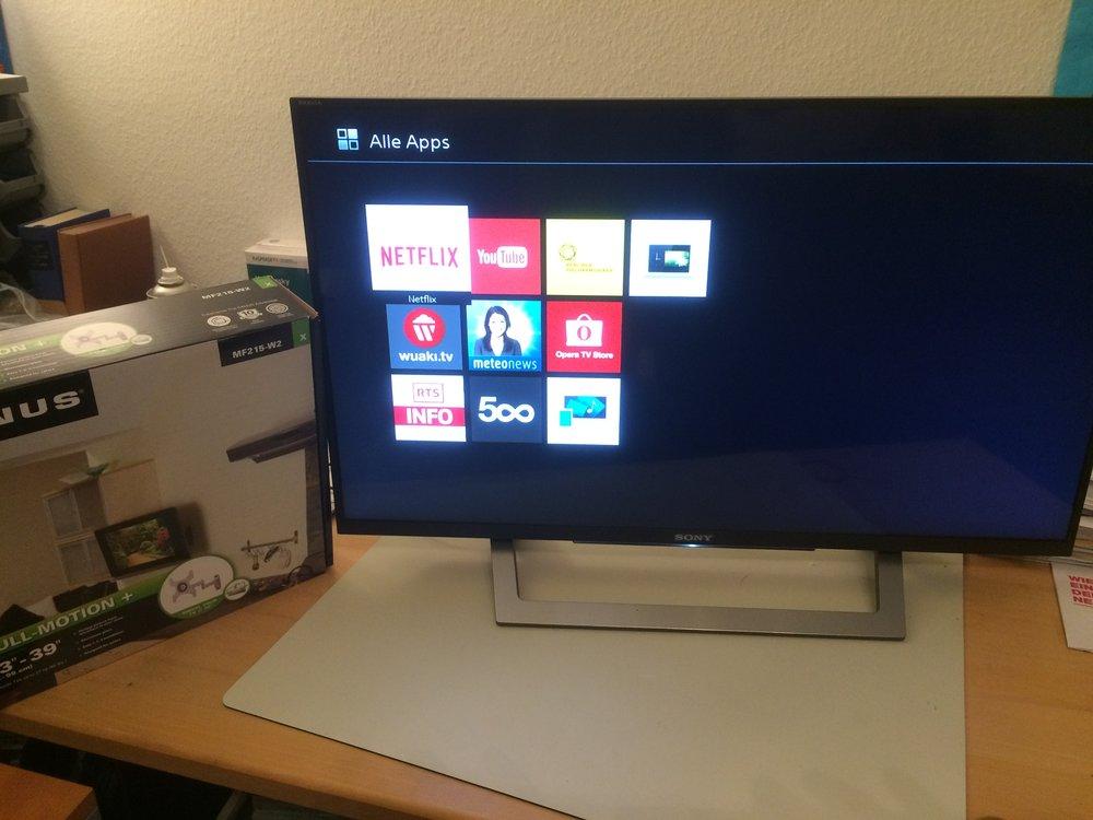 Apps für TV Installation