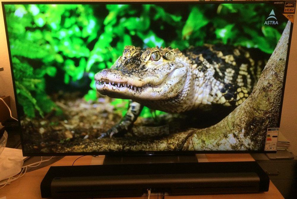 TV 4K UHD Konfiguration