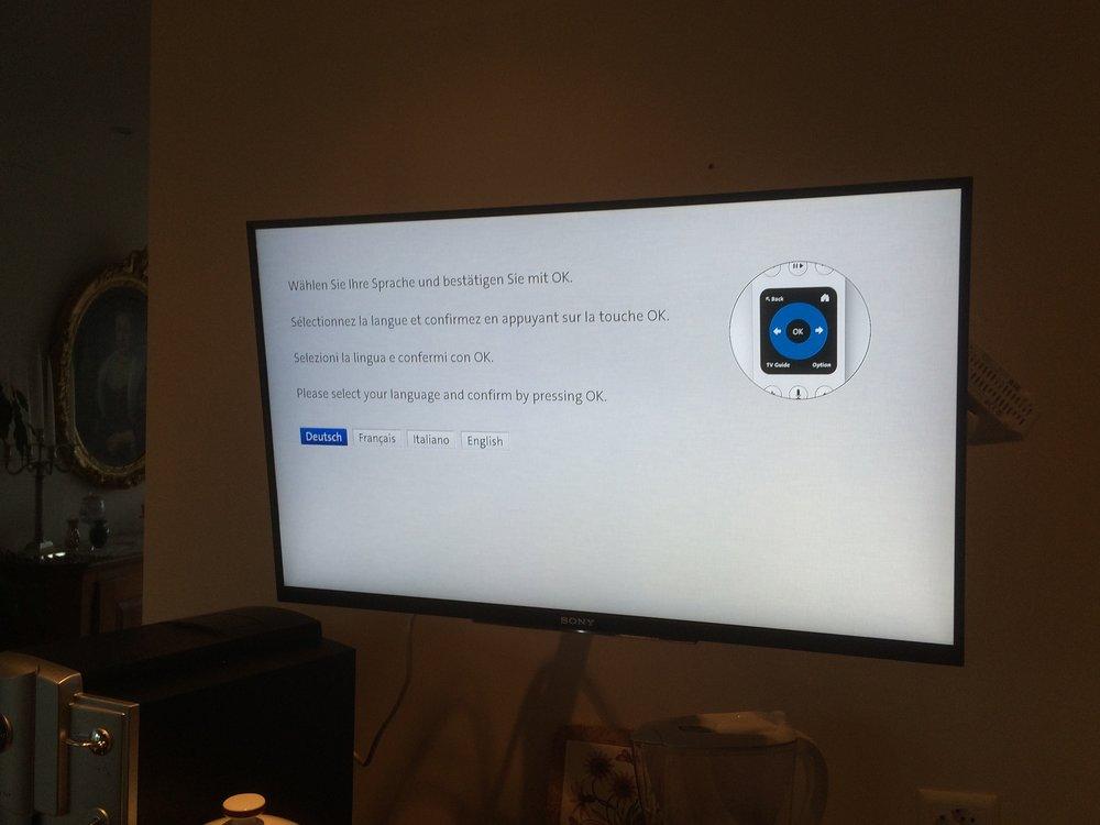 Swisscom TV Konfiguration