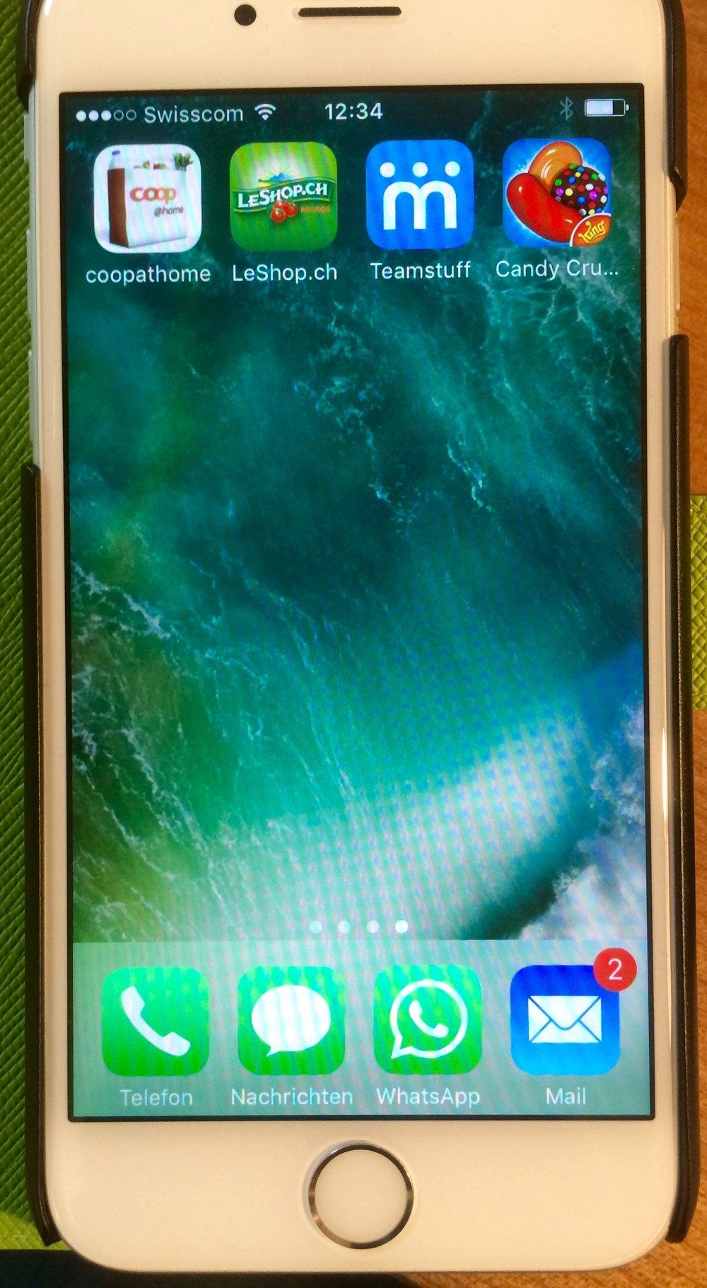 iPhone Konfiguration