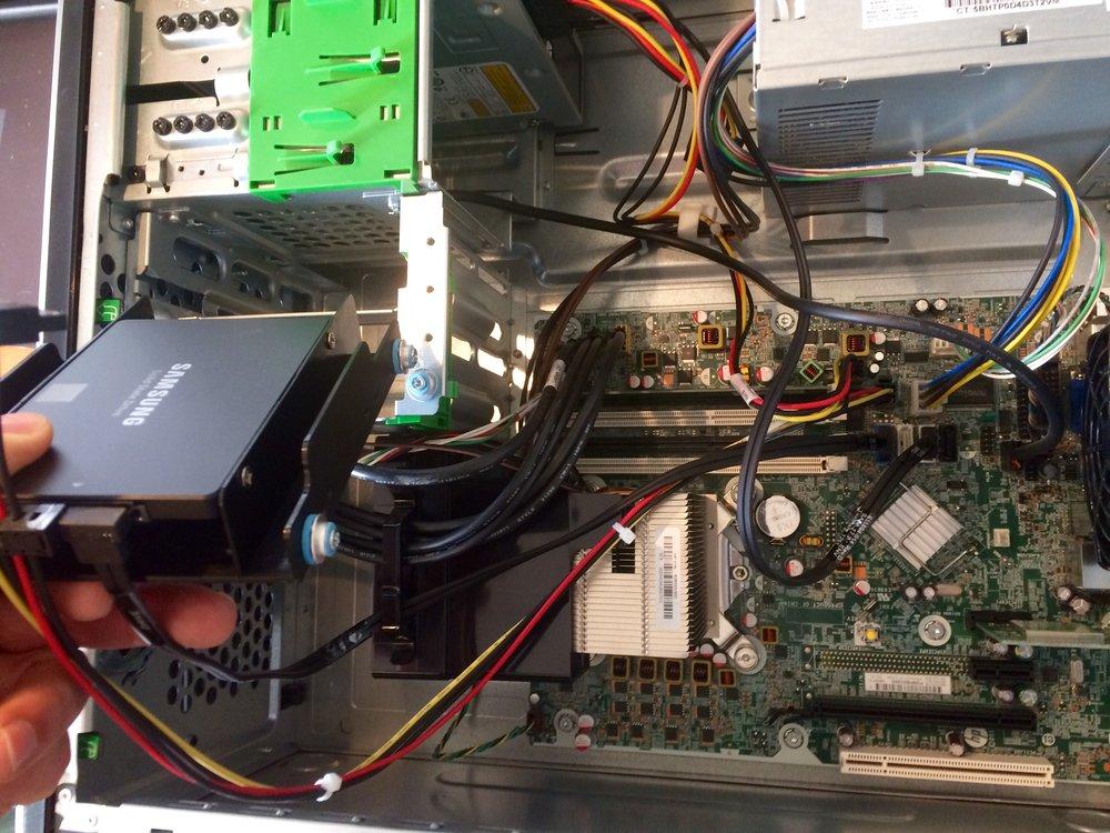 SSD Installieren
