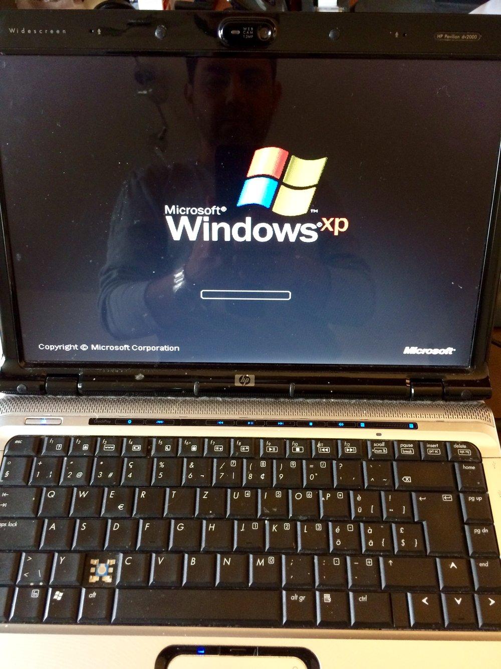 Windows XP Reparatur