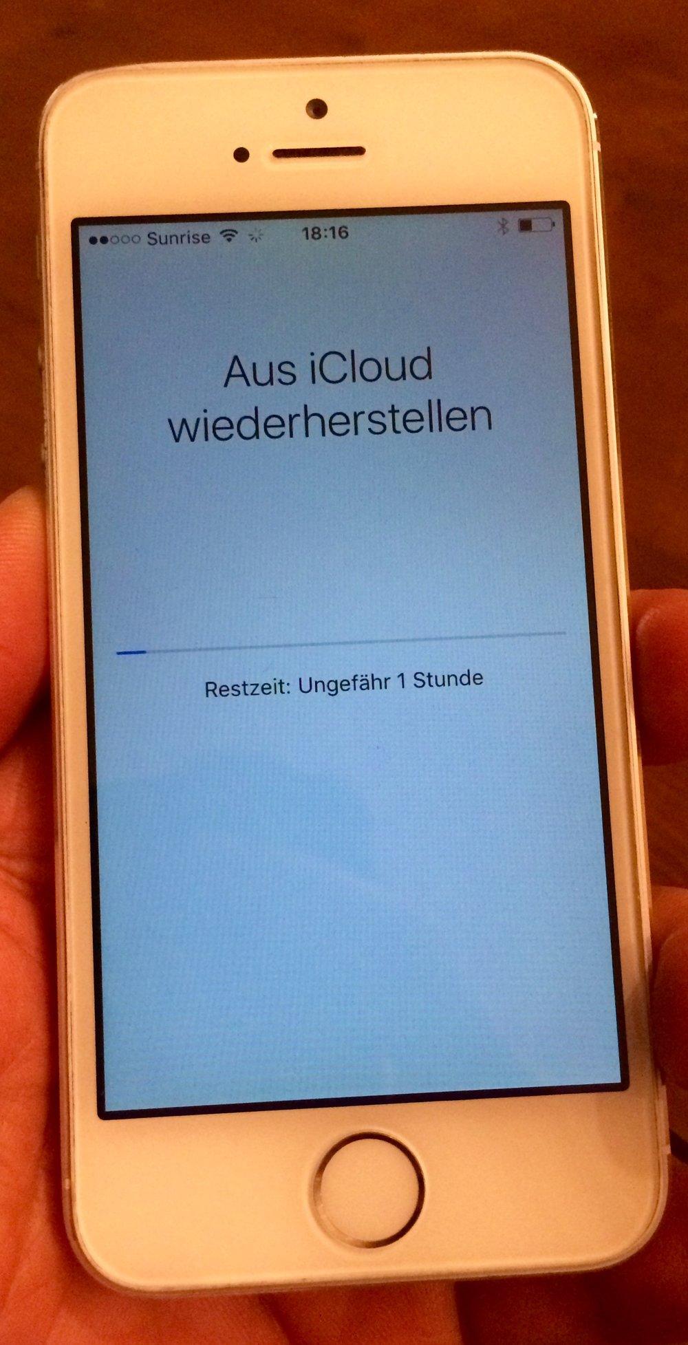iPhone Daten-Wiederherstellung