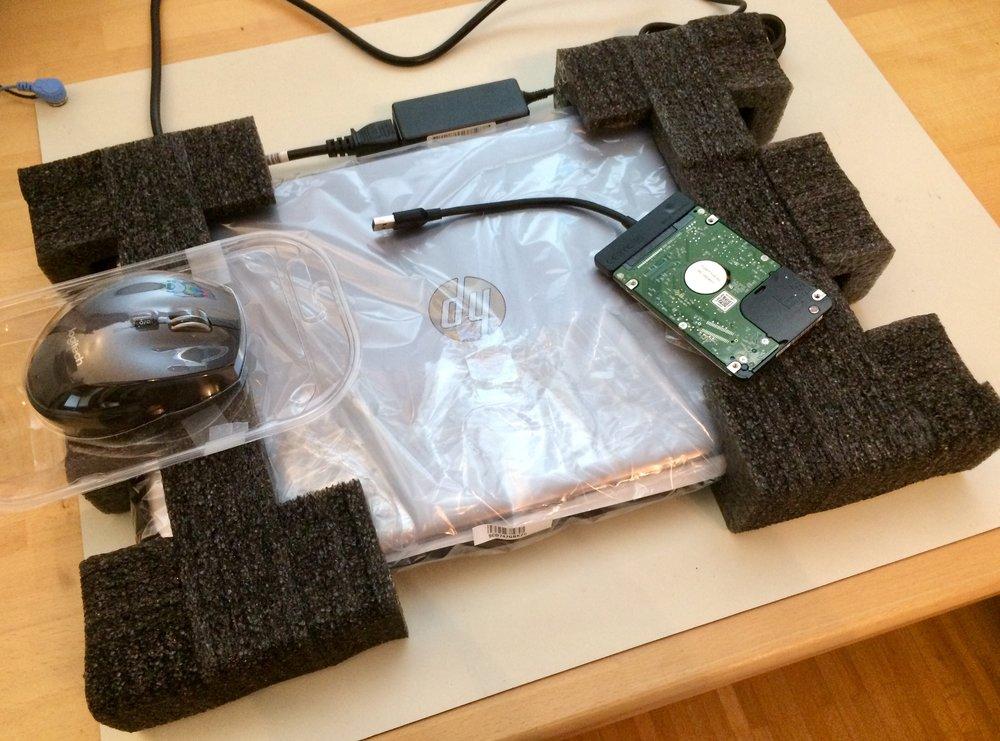 Laptop neu & Datenübername