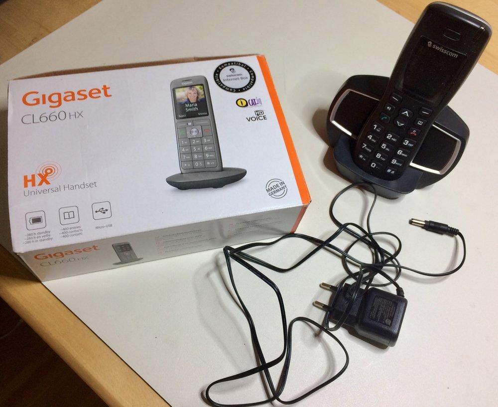 Swisscom all IP Festnetztelefon ersetzen