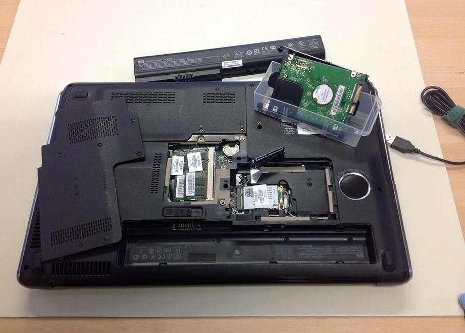 Daten-Rettung, Laptop defekt