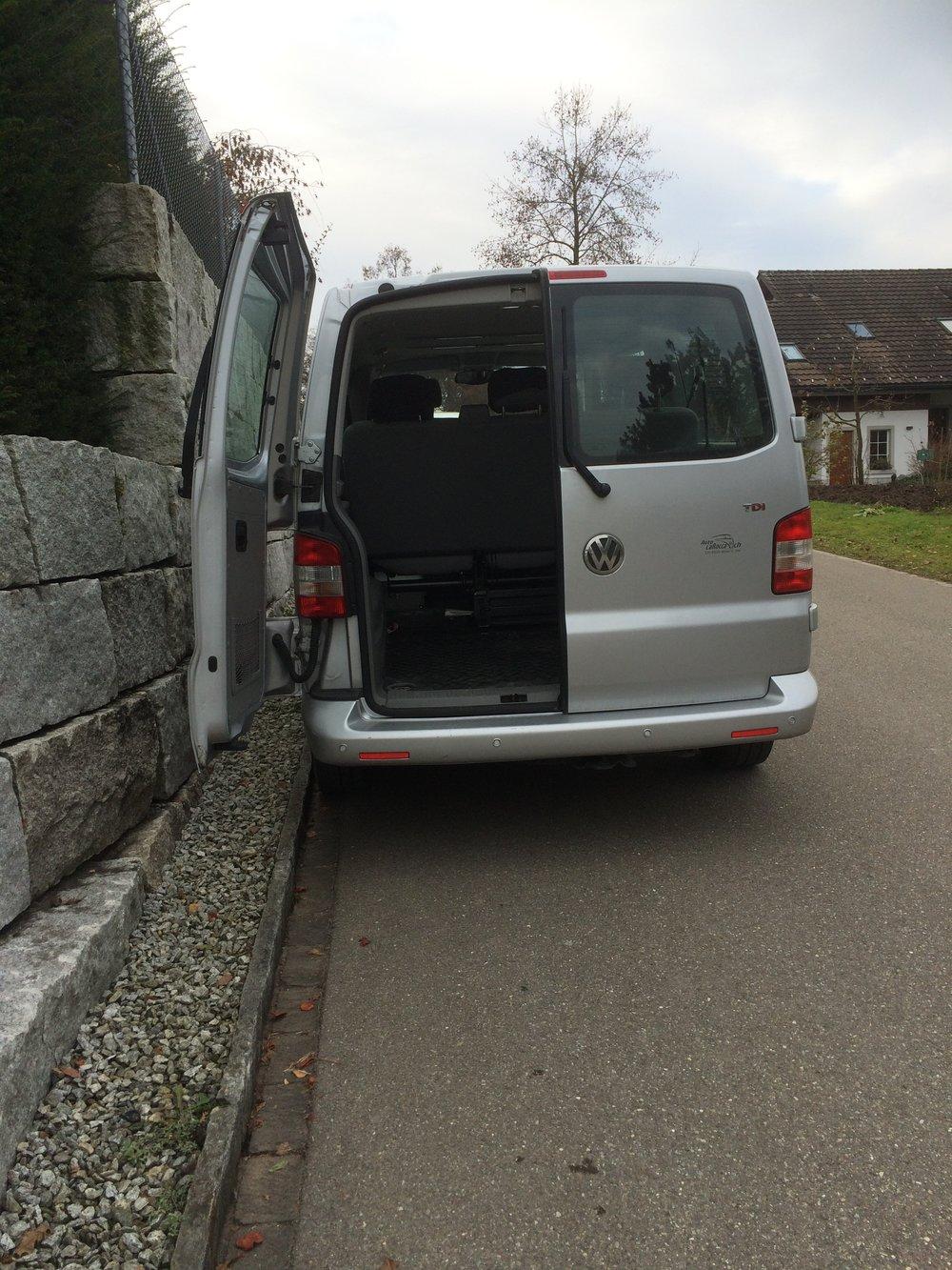 Unsere Lieferwagen