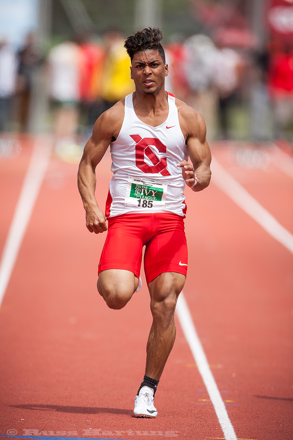 It's interesting seeing how different body types are natural fits for different events. The sprinters always have the best muscle definition for that explosive speed.