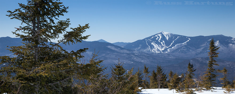 Whiteface ski area from Jay Mountain.
