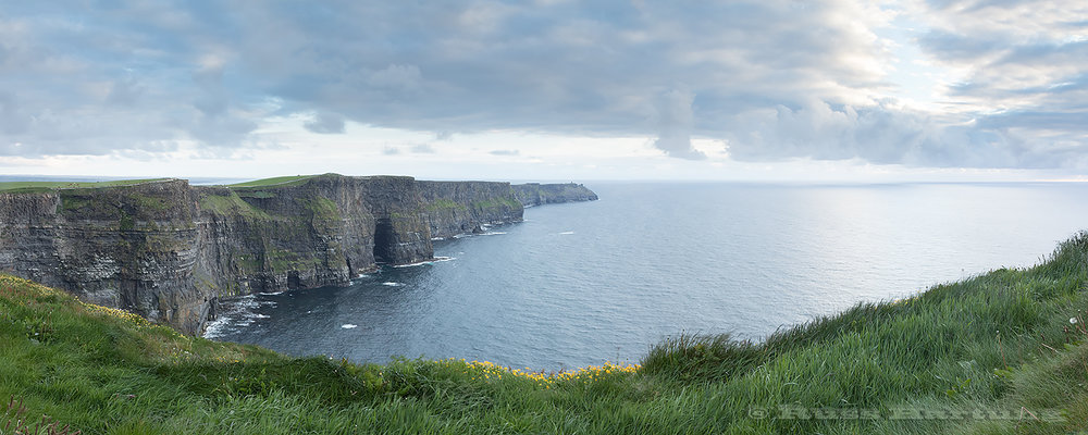 The Cliffs of Moher. Cliffden, Ireland.
