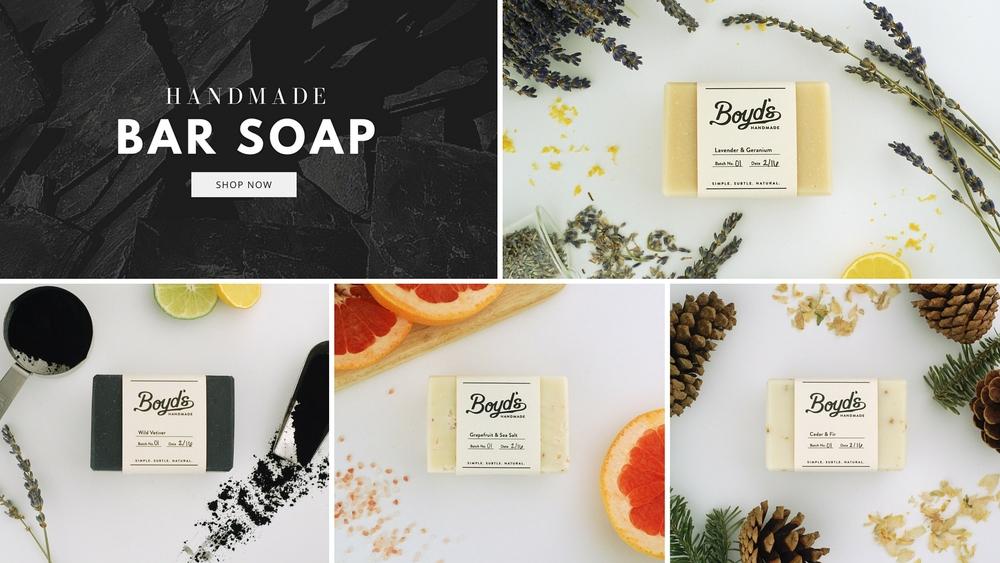 Handmade Organic Natural Soap Boyds Farm