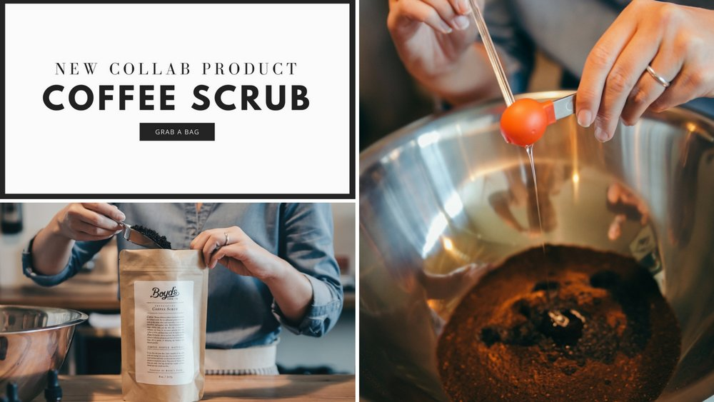 Texas Coffee Scrub - Boyd's Farm