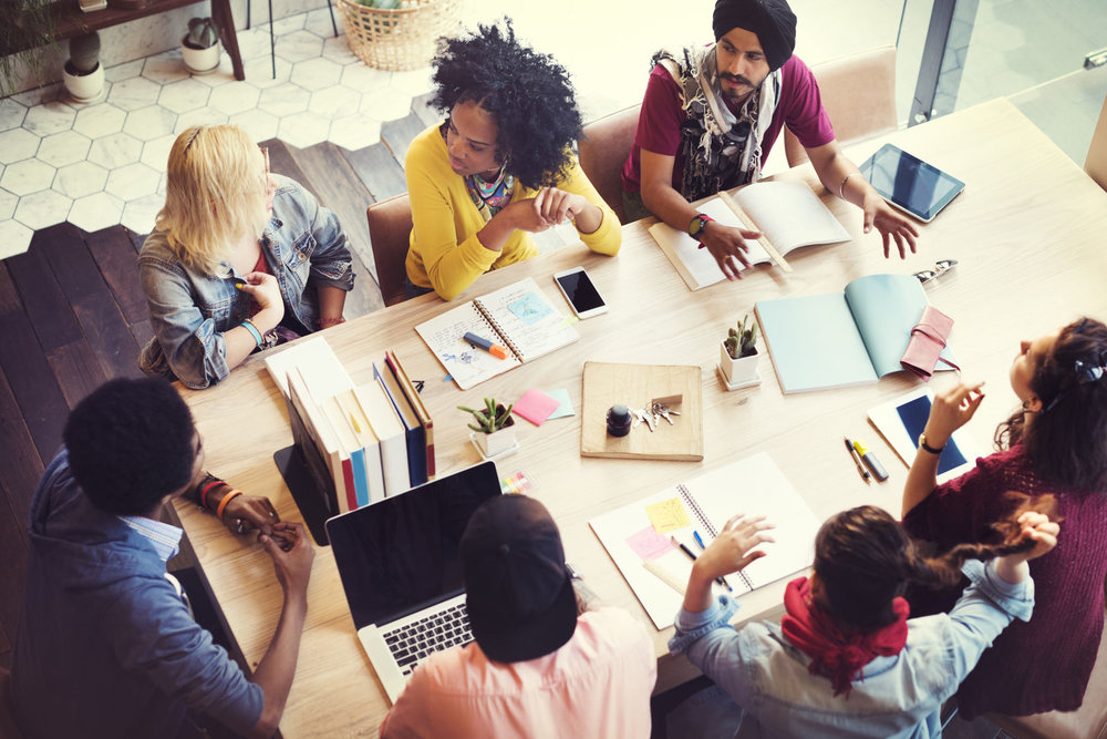 44691163 - designer teamwork brainstorming planning meeting concept