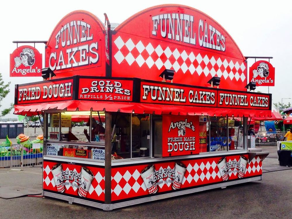 Angela's Funnel Cake - State Fair Meadowlands 2014 - East Rutherford, NJ