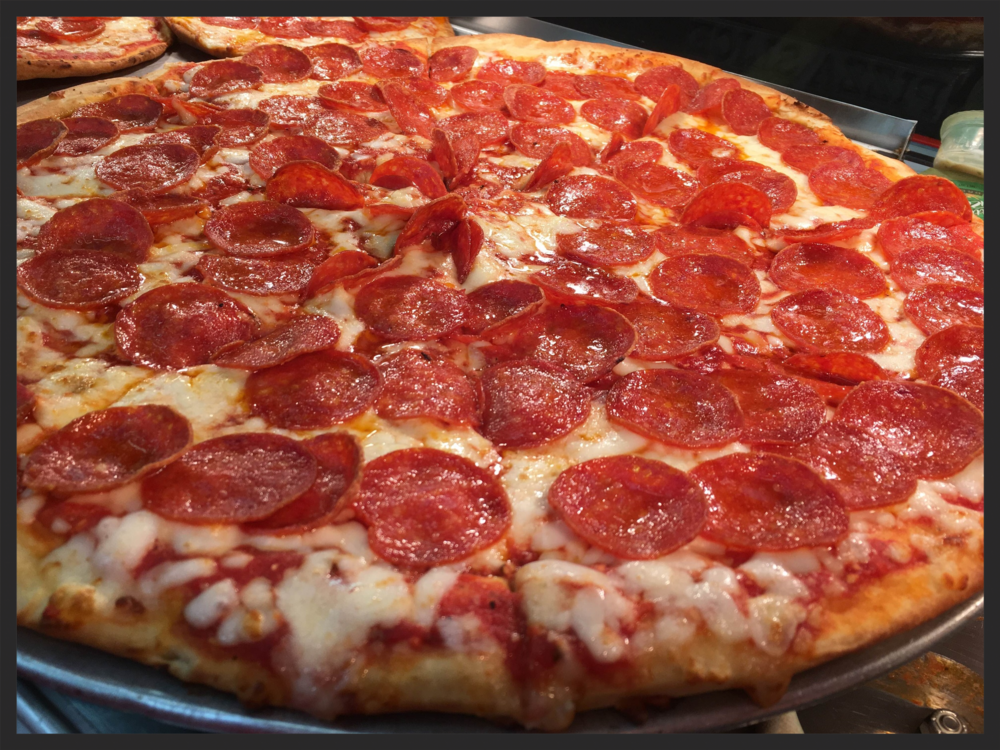 Whole Pepperoni Pizza.