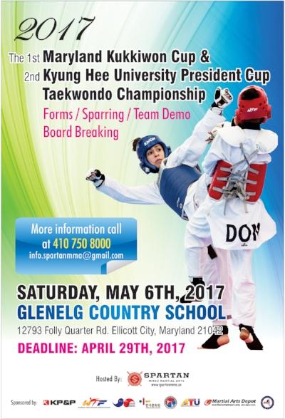 Taekwondo Tournament On May 6, 2017 — Spartan Mixed ...
