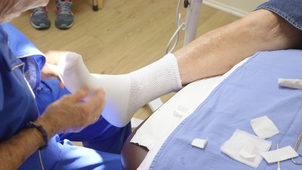"""Jean has been practicing wound care for over 35 years and is one of the best in the country.""   - Patient"