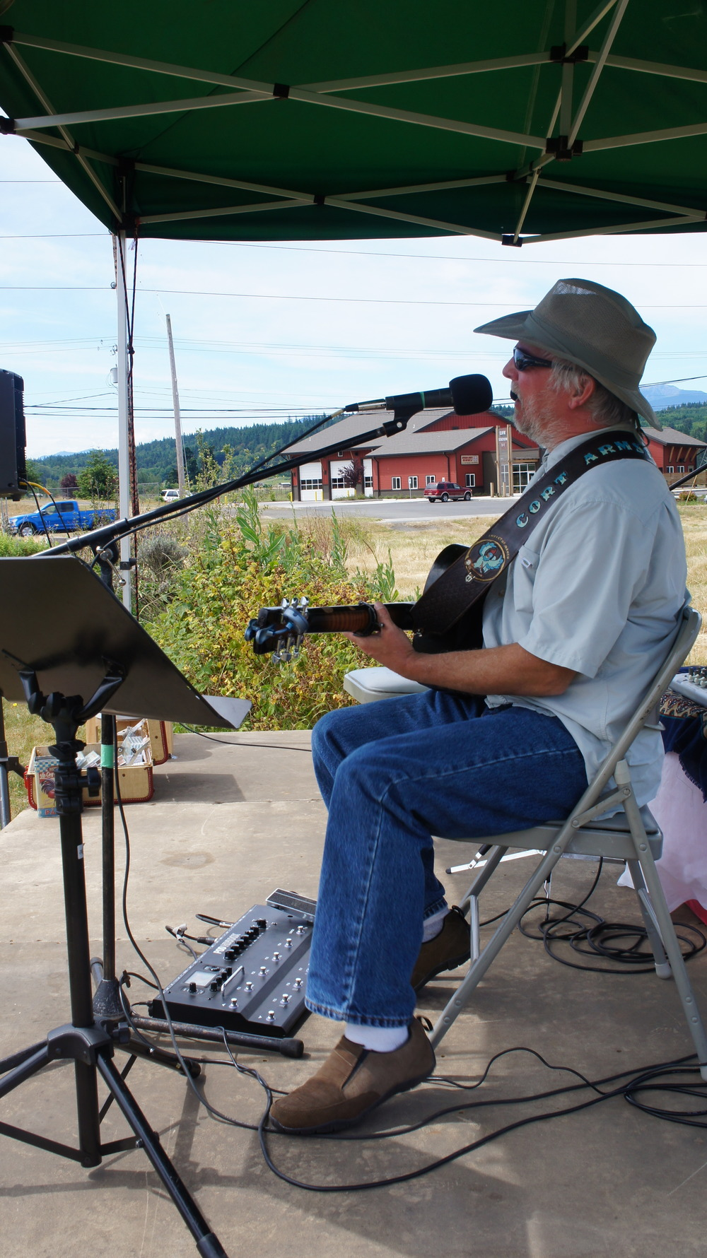 Cort Armstrong at the Chimacum Corner Market. Sundays 10 am - 2 pm.